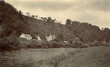 Photo: Wallace's birthplace Kensington Cottage (centre) near Usk, Wales probably c. 1900. The image is in postcard format. Photographer: H. Dunning, Usk. First published by the A. R. Wallace Memorial Fund & G. W. Beccaloni in 2010. Scanned with permission from the original owned by the Wallace family. Copyright of scan and owner of Publication Right: A. R. Wallace Memorial Fund & G. W. Beccaloni.