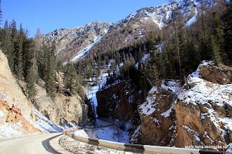 Photo: Дорога на Улаган. Красные ворота.