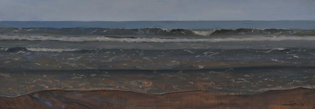 Photo: Winter tide 20x48 2000