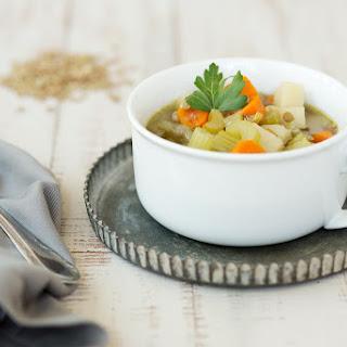 Hearty Potato Lentil Soup