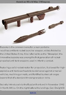 World War 2 American Weapons - náhled