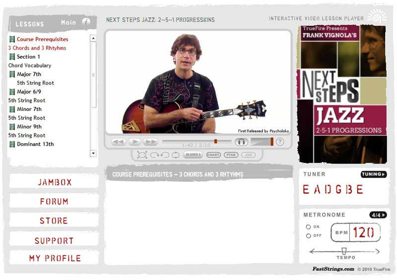 Frank Vignola - Next Steps Jazz 2-5-1 Progressions