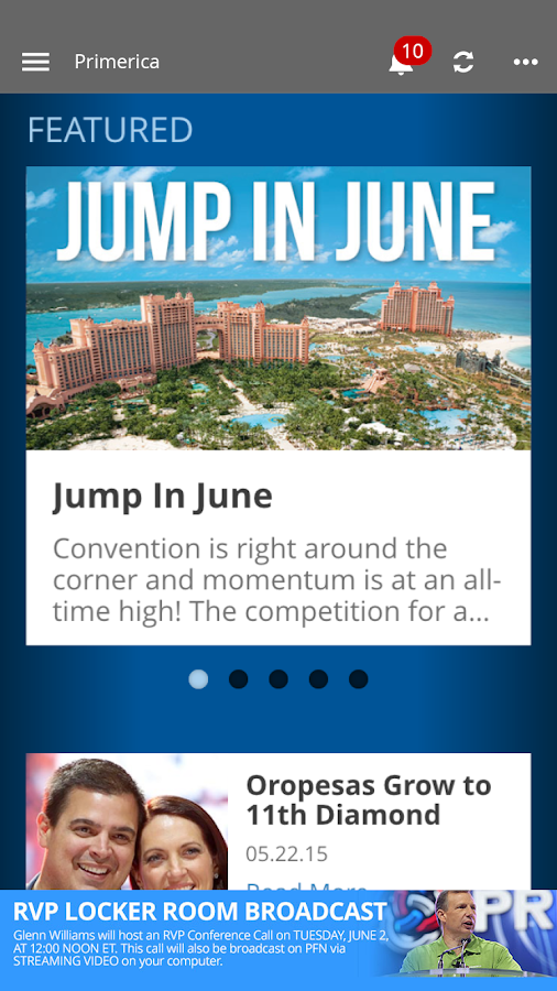 Primerica App- screenshot
