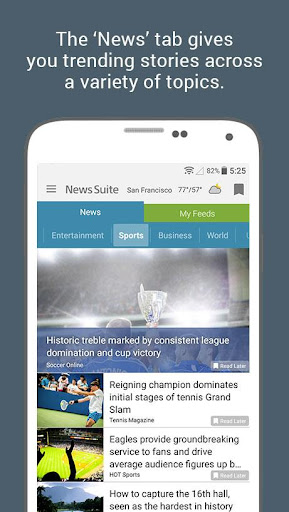 News Suite by Sony 5.1.08.30.2 screenshots {n} 2