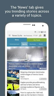 News Suite by Sony Screenshot