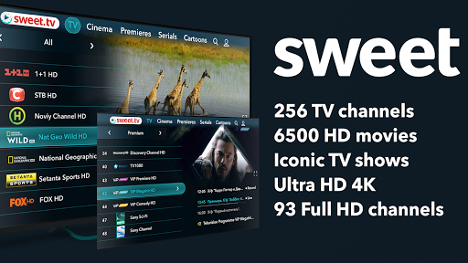 SWEET.TV - TV online for TV and TV-boxes 2.2.4 screenshots 1