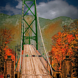 Lions Gate Bridge by Joseph Vittek - Buildings & Architecture Bridges & Suspended Structures