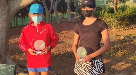 Capel y Navarro, campeones provinciales de tenis