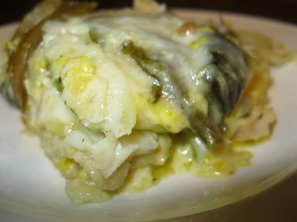 Chicken, Corn & Poblano Lasagna