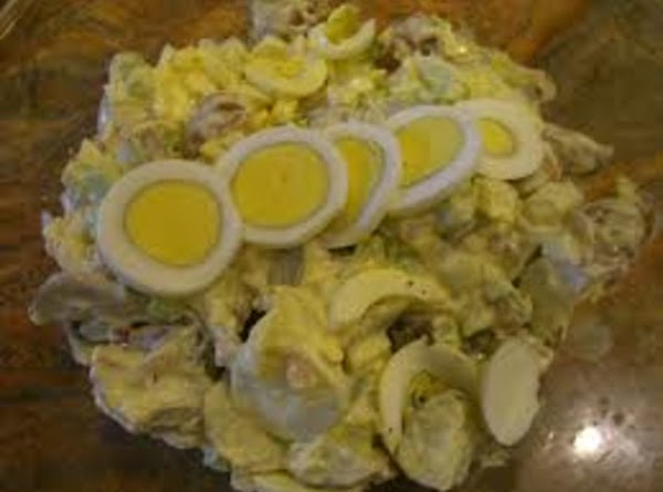 Jeanne's Mustard Potato Salad Recipe