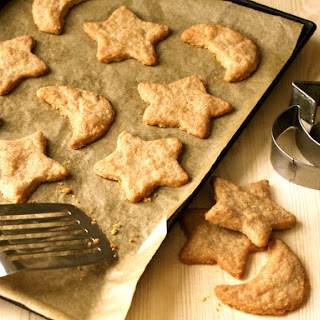 Cheesy Constellation Crackers (Treats for your Dog)