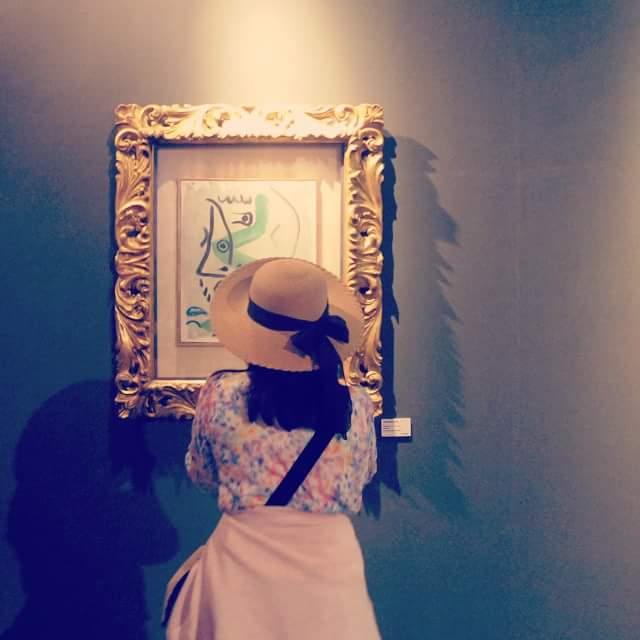 Picasso e il cappellino.  di sere.sergi