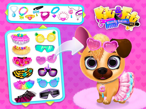 Kiki & Fifi Pet Beauty Salon - Haircut & Makeup apkpoly screenshots 13