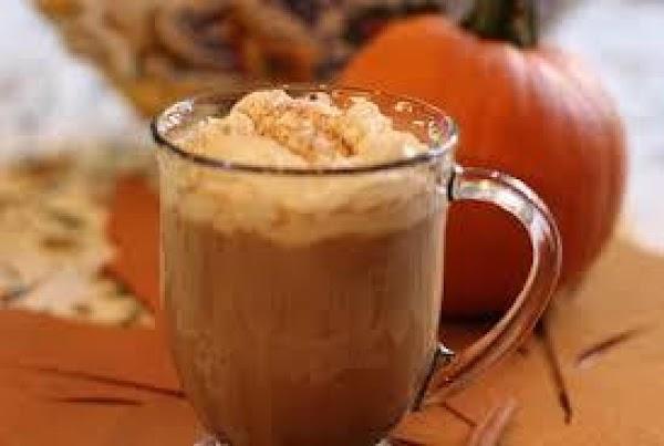 Pumpkin Spice Soy Latte Recipe
