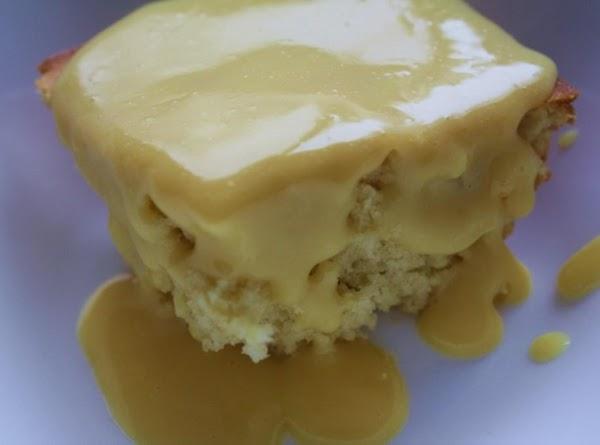 Cottage Pudding With Custard Sauce Recipe
