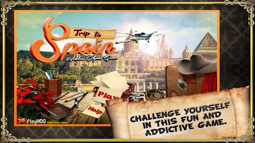 android Trip to Spain - Hidden Object Screenshot 0