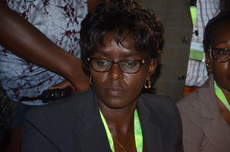 IEBC returning officer Beatrice Muli.