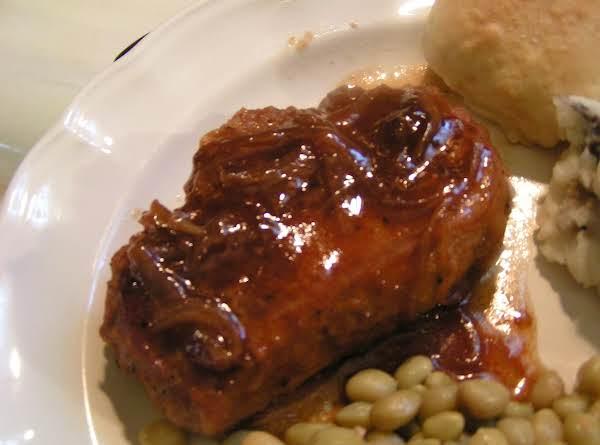 Pork Loin In Onion Gravy - Dee Dee's