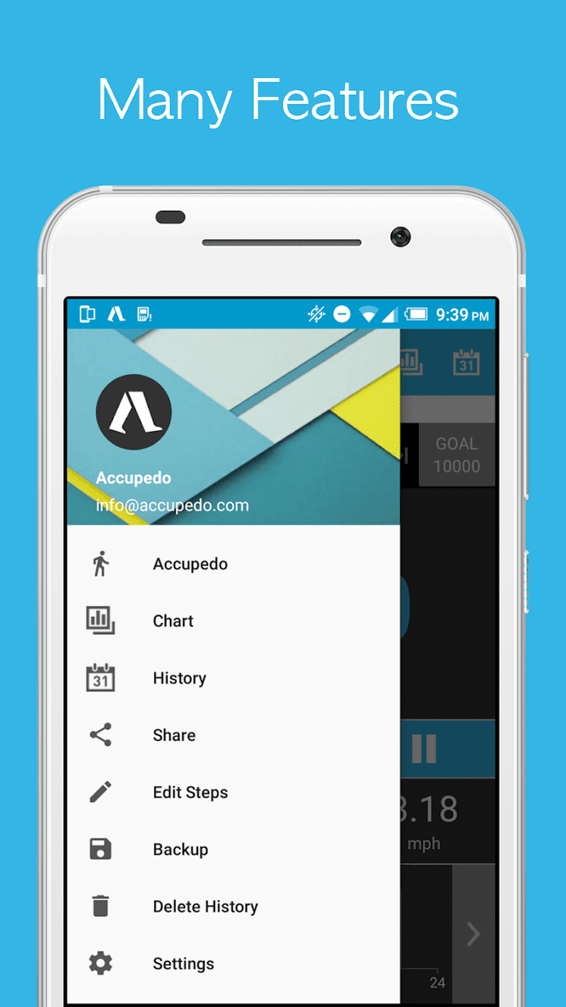 Accupedo-Pro Pedometer - Step Counter Screenshot 7