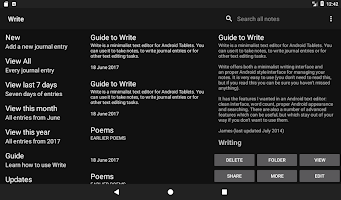 Write: Tablet Notepad/Journal