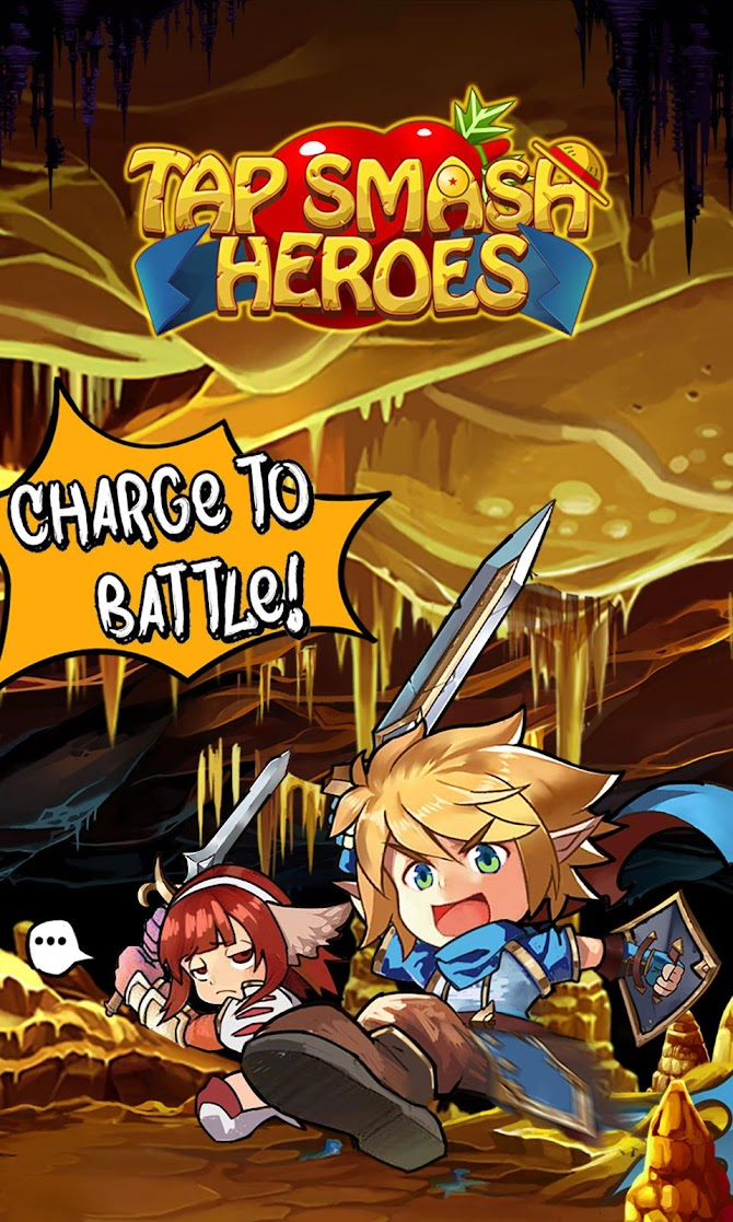 Tap Smash Heroes: Idle RPG Game Android 1