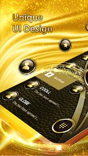 Luxury Golden SMS - Default SMS&Phone handler