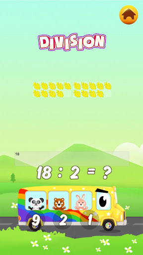 1st 2nd grade math games for kids - screenshot