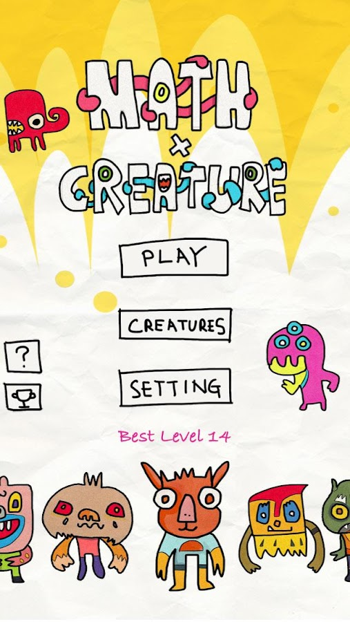 Math X Creature- screenshot