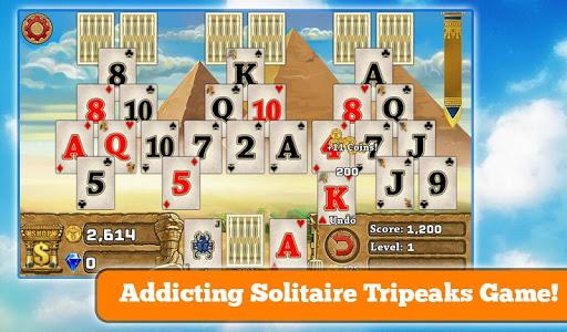 玩免費紙牌APP|下載3 Pyramid Tripeaks Solitaire app不用錢|硬是要APP