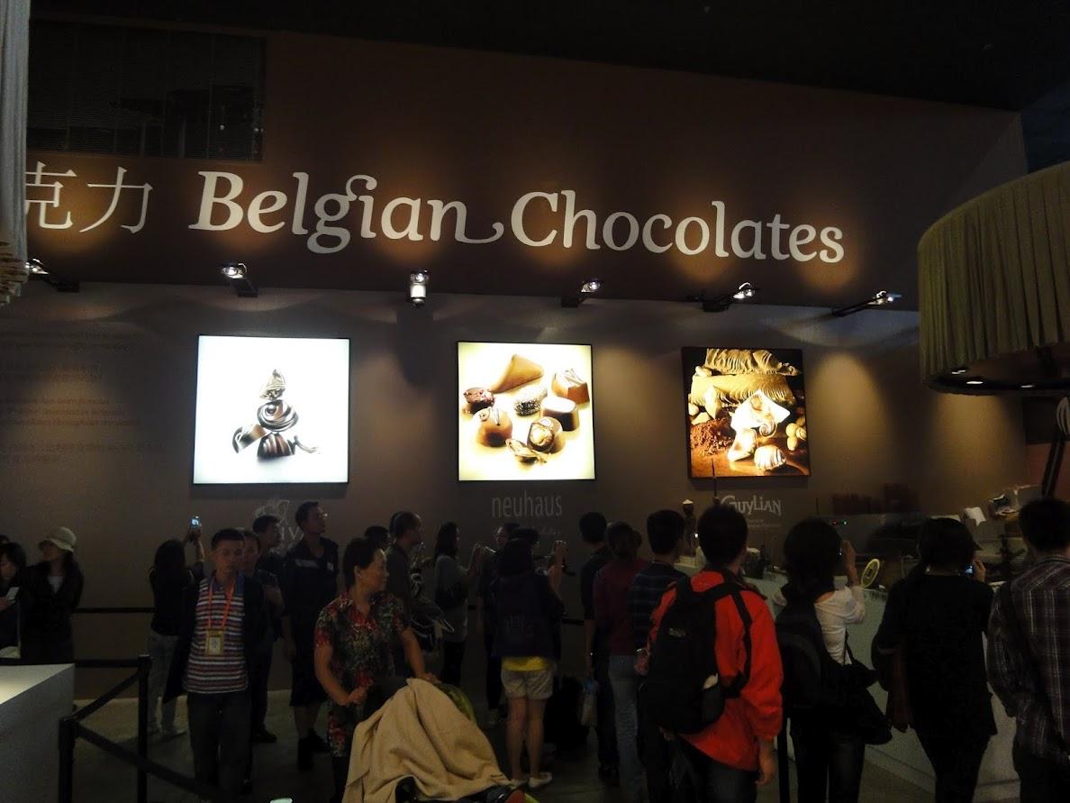 Pavillon Belgique - Union européenne à l'Exposition universelle Shanghai 2010