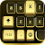 Golden Black Cheetah Keyboard file APK for Gaming PC/PS3/PS4 Smart TV