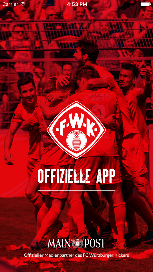 FC Würzburger Kickers- screenshot