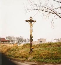 Photo: Krzyż w 1999 roku. Zdjęcie: H. Cojg
