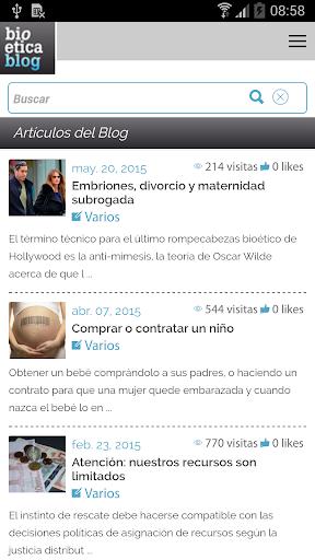 Bioetica screenshot 3