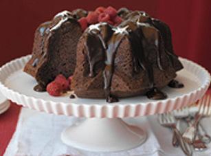 Chocolate Bliss Bundt Cake & Raspberry Sauce Recipe