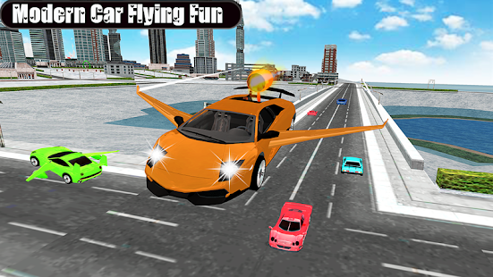 Flying Car Games Sky Drive - náhled