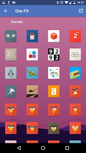 OnePX - Icon Pack v3.05
