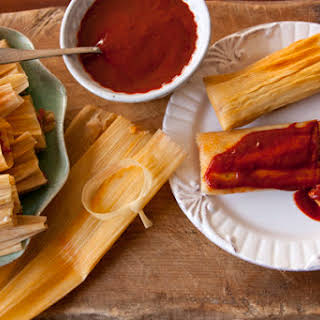 Make Your Own Red Chile and Pork Tamales.
