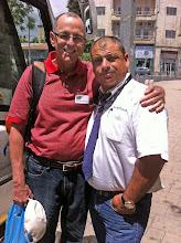 Photo: Bill & our bus driver, Dov Chen