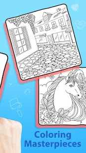 Doodle Color - Coloring Book Screenshot