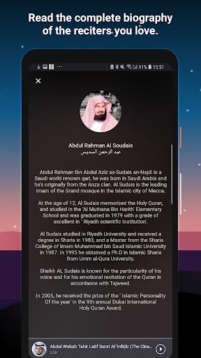 Quran Pro Muslim: MP3 Audio offline & Read Tafsir screenshot 14