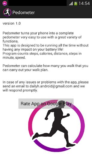 Pedometer screenshot 4