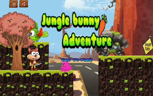 Bunny Jungle Adventure - screenshot
