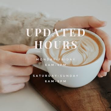Updated Hours - Instagram Post template