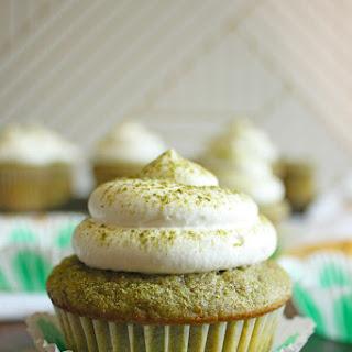 Green Tea Cup Cakes.