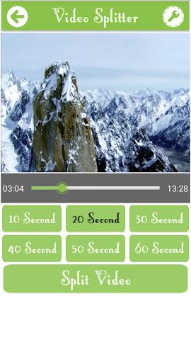 android Video Splitter Pro Screenshot 1