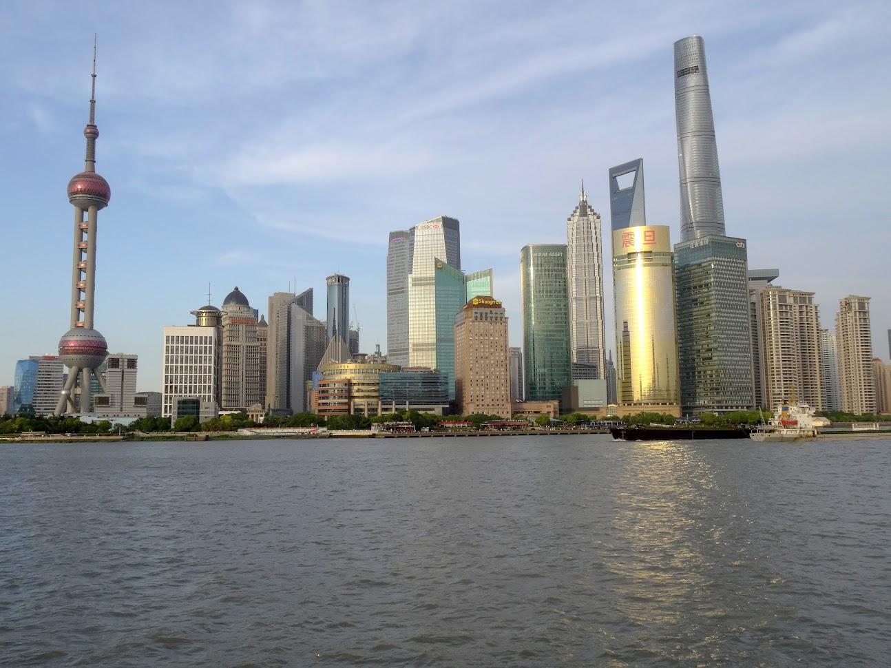 Pudong à Shanghai