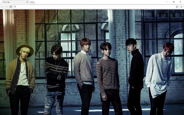 K-Pop Music Themes & New Tab