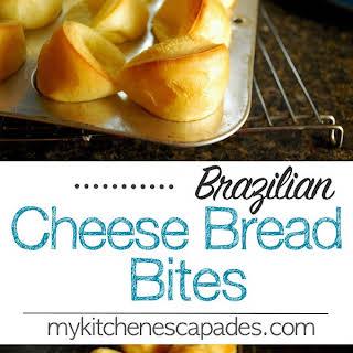 Brazilian Cheese Quick Bread.