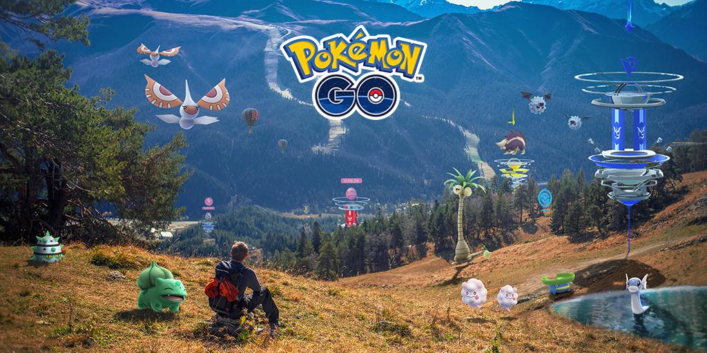 Pokémon GO主頁翻新,而且遊戲裡的天空將出現變化!